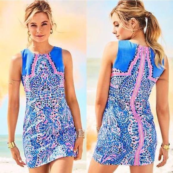 9462b7687b0116 Lilly Pulitzer Dresses | Lily Pulitzer Mila Shift Dress | Poshmark